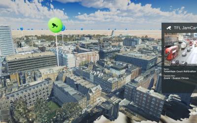 Mesh models underpin Bartlett dynamic map of London