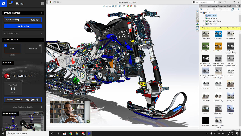 Radeon Pro Drive 21.Q1