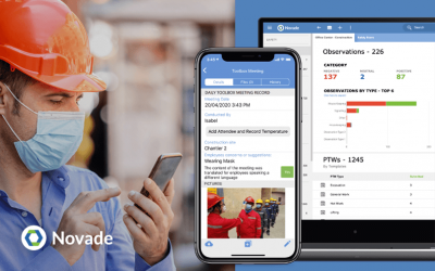 Novade Launches Digital Solutions to Mitigate On-site COVID-19 Risks