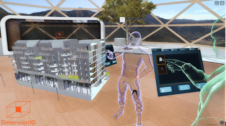 Dimension10 Varjo - collaborative VR for architecture